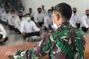 66 Peserta Seleksi Caba PK TNI-AD Mendapat Arahan Dari Dandim 0319 Mentawai
