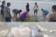 Warga di Gegerkan Penemuan Mayat Terdampar di Lokasi Uman Ngorut Dusun Tiniti