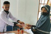 Bantuan Kemensos Untuk 127 KK di Kanagarian Singgalang di Berikan Berupa Uang Tunai