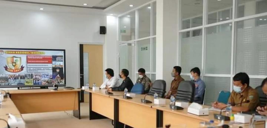Wawako dan Sekdako Padang Panjang Ikuti Rakorwasdanas Secara Virtual, Ini Pesan Presiden Kepada Seluruh Kepala Daerah