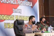 Rakor Pengamanan PON XX Papua, Kapolri : Antisipasi Gangguan Kamtibmas dan Penguatan Prokes