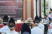 Simulasi Evaluasi TPN, Lapas Padang di Puji Inspektorat Jenderal Kemenkumham