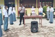 Sebelum Pelaksanaan, Kapolsek Sipora Sosialisasi Vaksinasi Kepada Pelajar SMA 1 Sioban