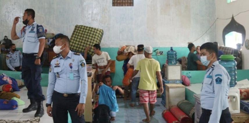 Hindari Kejadian Serupa di Lapas Tangerang, Lapas Kelas II A Padang Lakukan Ini!