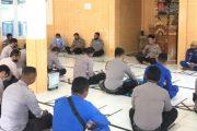 Tingkatkan Keimanan dan Ketaqwaan, Personel Polres Mentawai Ikuti Binrohtal