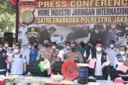 Polisi Ungkap Tempat Produksi Sabu di Perumahan Elite Tangerang