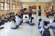 Hari Kedua Gerai Vaksinasi TNI-Polri di SMA 1 Sipora di Ikuti 204 Pelajar