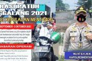 Ops Patuh Singgalang, Kapolres Mentawai Ajak Warga Patuhi Aturan Lalin dan Prokes
