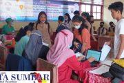 Vaksinasi Massal Bagi Pelajar Terus di Gencarkan, Hari Ini di Ikuti 195 Orang di SMPN 2 Sipora