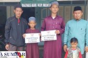 Selesaikan Wisuda Kubroh 30 Juz di Ponpes Temboro, Baznas Mentawai Bantu Dana Pendidikan Untuk Dua Orang Anak