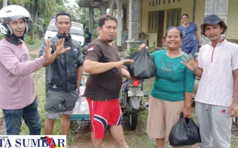 DPK Pekat IB Ulakan Tapakis Gerak Cepat Berikan Bantuan Kepada Korban Banjir di Kampung Koto Ulakan