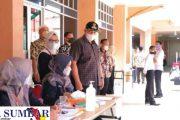 Walikota Solok Tinjau Pelaksanaan Tes SKD CPNS di Hari Pertama