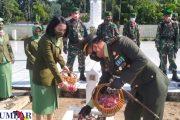 Peringati HUT TNI ke-76, Dandim 0311 Pessel Ziarah di TMP Sago