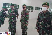 5 Prajurit dan Satu Perwira Kodim 0319 Mentawai Naik Pangkat