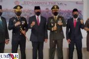 Upacara HUT Ke-76 TNI di Gelar Kodim 0311 Pessel Secara Daring