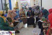 TP-PKK Lubuk Sikarah Pilih Kecamatan PBB Sebagai Tempat Belajar
