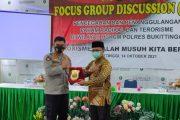 FGD di Ponpes Sumatera Thawalib Parabek Bukittinggi, Divisi Humas Polri : Terorisme Adalah Musuh Kita Bersama