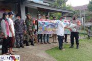 Polsek Sikakap Salurkan Bantuan Beras 35 Karung Kepada Pengurus Asrama GKPM