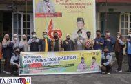 Ketua Kwarcab Lepas Pramuka Kwartir Cabang 12 Kota Padang Panjang Ikuti Lomba Giat Prestasi di Sawahlunto