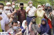 Tenaga Ahli KSP dan Rombongan Kementan Kunjungi KWT Kemuning Kelurahan Koto Panjang