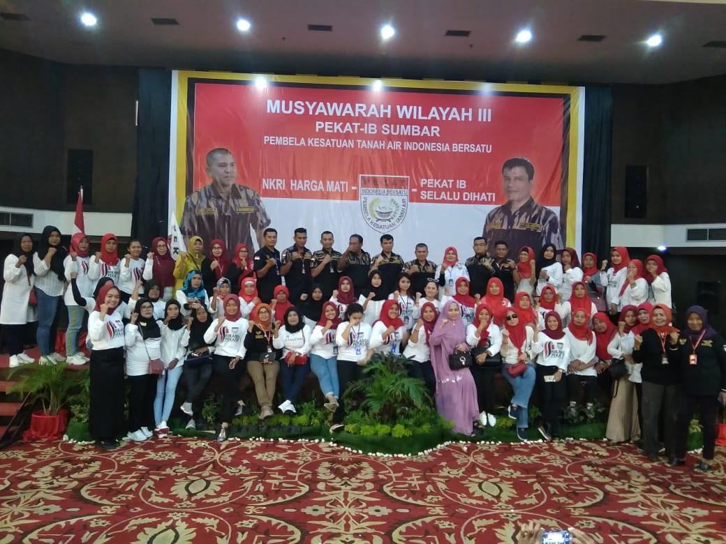 Afrizal Djunit ST Resmi Jabat Ketua DPW Pekat IB Sumbar, Periode 2018 - 2023.