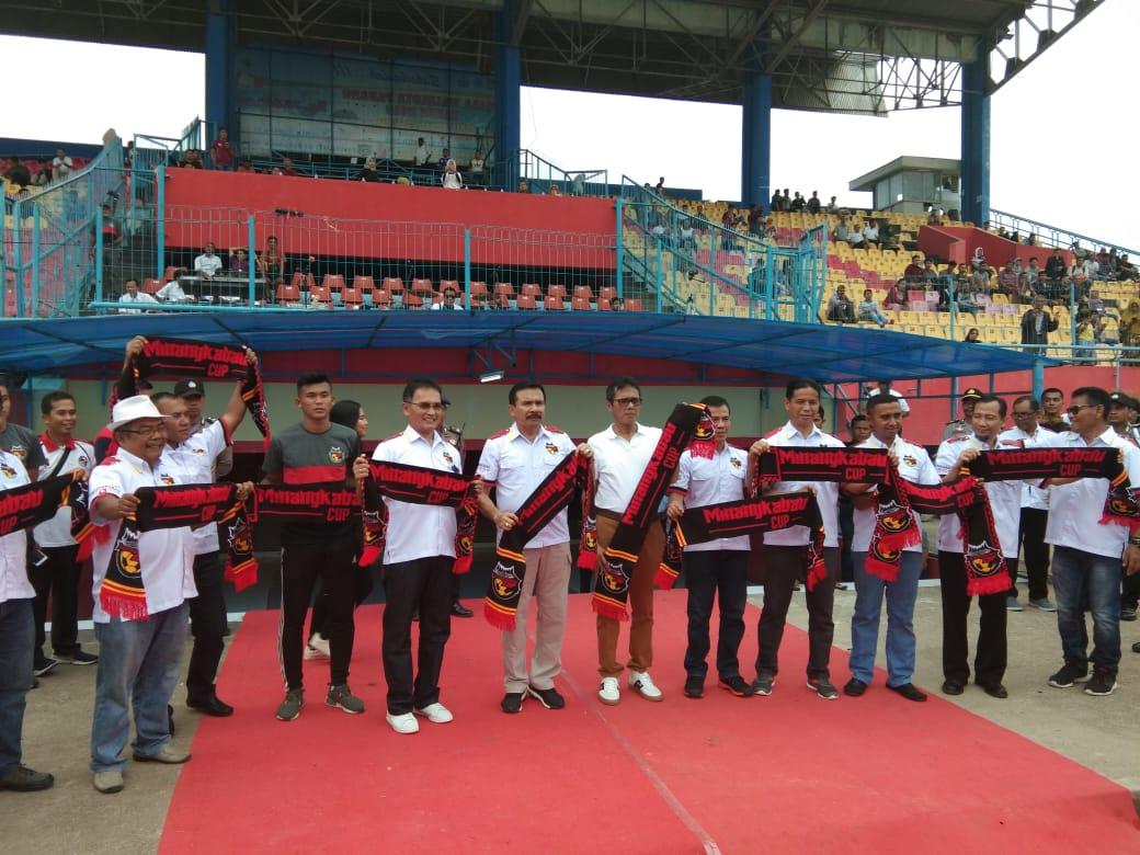Cari Bibit Pemain Bola, Minangkabau CUP Siap di Tabuh