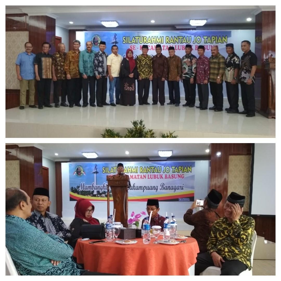 Para Tokoh Kecamatan Lubuk Basung Rantau dan Ranah Adakan Konsolidasi Dalam Menyambut Pemilu 2019.