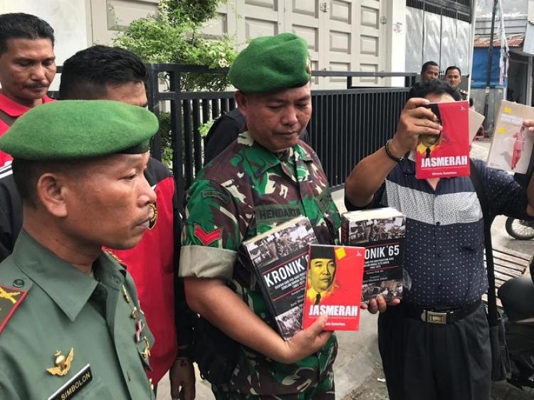 TNI dan Kejaksaan, Sita Buku Paham Komunis di Kota Padang