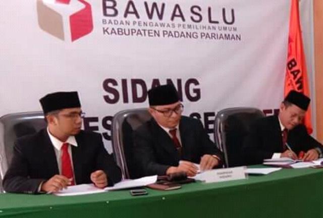 Diduga Lakukan Kampanye Terselubung, Bawaslu Panggil Kakan Kemenang Padang Pariaman