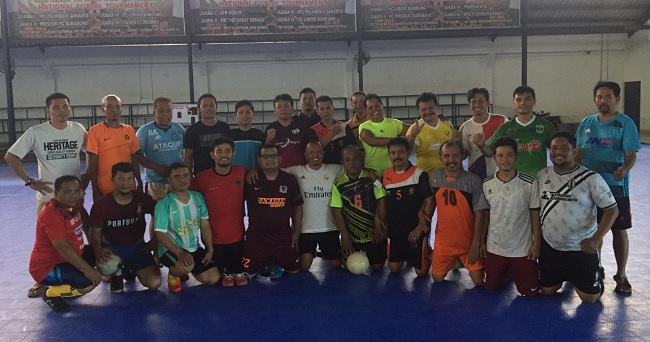 Tim Futsal SIWO PWI Sumbar, Ikuti Pra-Porwanas