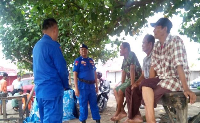 Datangi Kelompok Nelayan, Ini yang dilakukan Binmas Ditpolairud Polda Sumbar