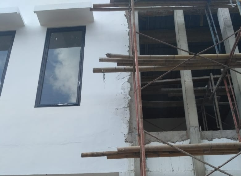 Di duga Pembangunan Kantor Bupati Sijunjung Terkesan Asal Jadi