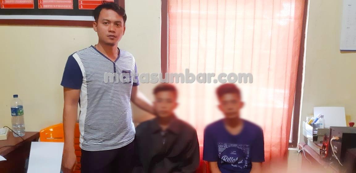 Dua Orang Pelaku Pencurian Berhasil Di Amankan Polsek Sikakap