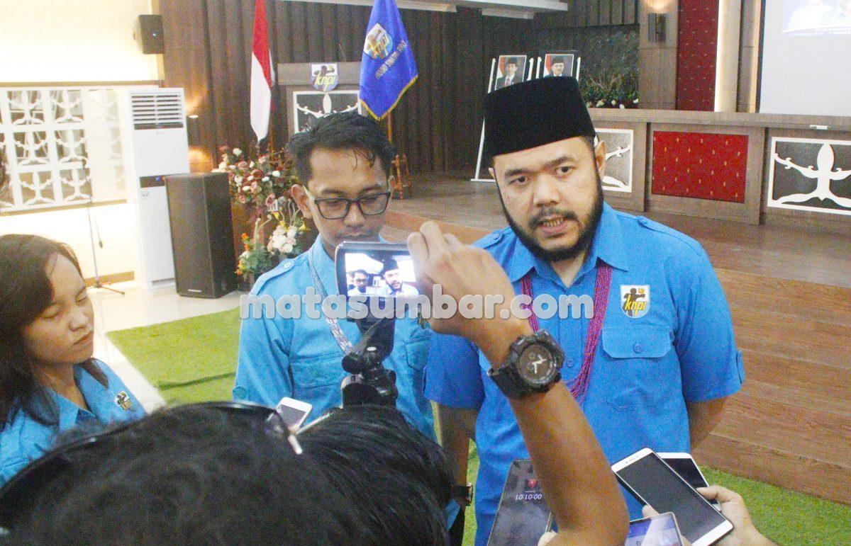 DPD KNPI Mentawai Resmi di Lantik, Fadly Amran Berharap Lahirkan Tokoh Pemuda