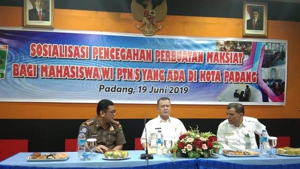 Nasrul Abit Tegaskan Pelaku Maksiat Harus di Hukum Seberatnya