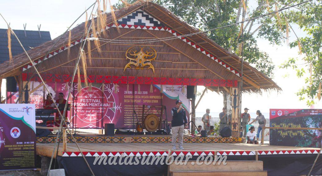 BPBD Mentawai Himbau Masyarakat Pengunjung Tetap Waspada Selama Kegiatan FPM