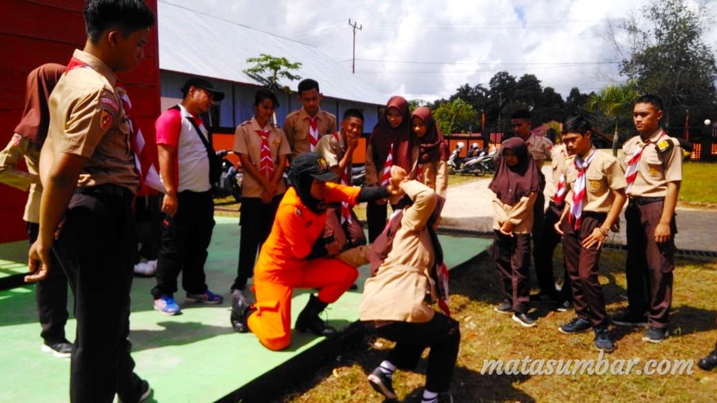 20 Anggota Pramuka Sakawira Kartika Ikuti Perjusami di Limapuluh Kota