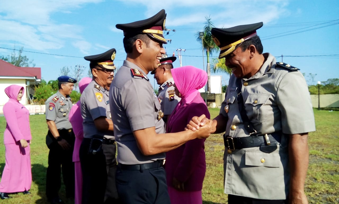 Sertijab Waka Polres Mentawai di Jabat Kompol Maman Rosadi