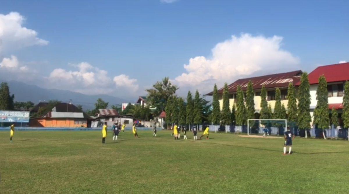 Tim Polres Mentawai Pimpin Klasemen Sementara di Group A Kapolda Cup