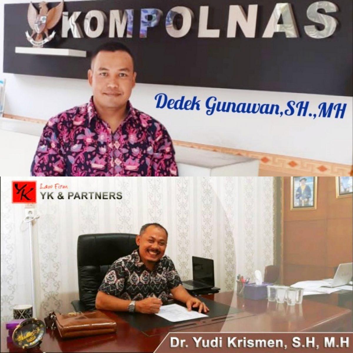 Law Firm YK dan Partner Laporkan Polres Sarolangun ke Kompolnas