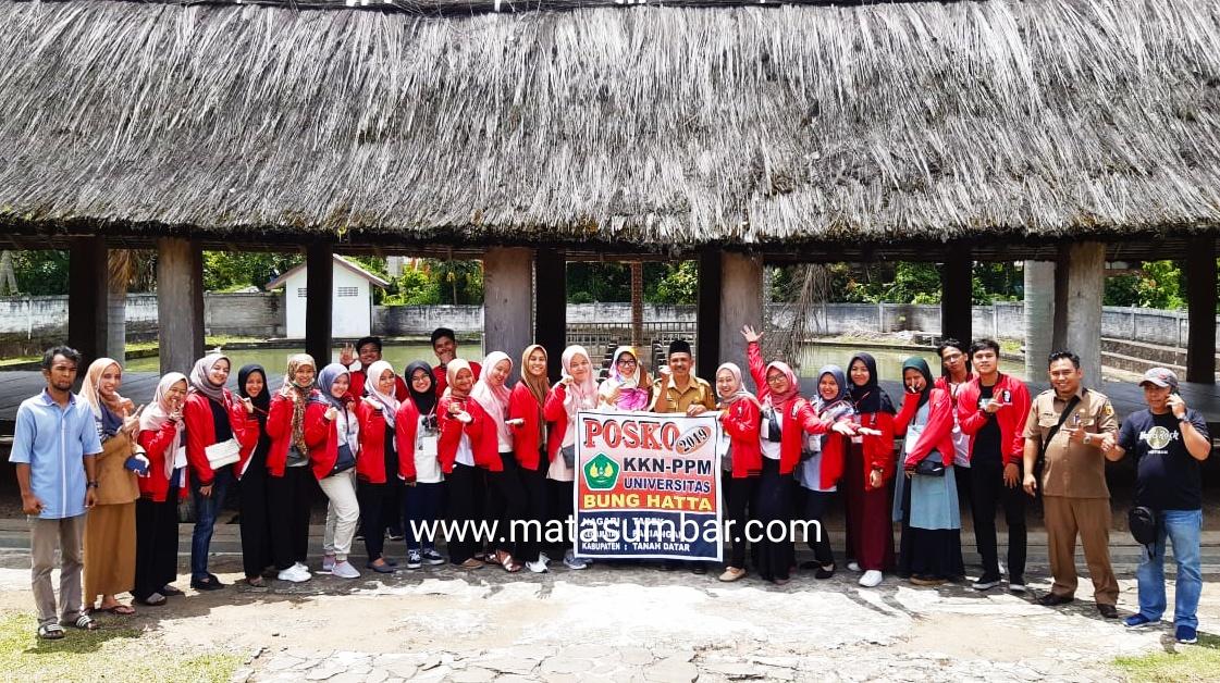 Mahasiswa Bung Hatta Padang KKN di Tujuh Nagari Kabupaten Tanah Datar