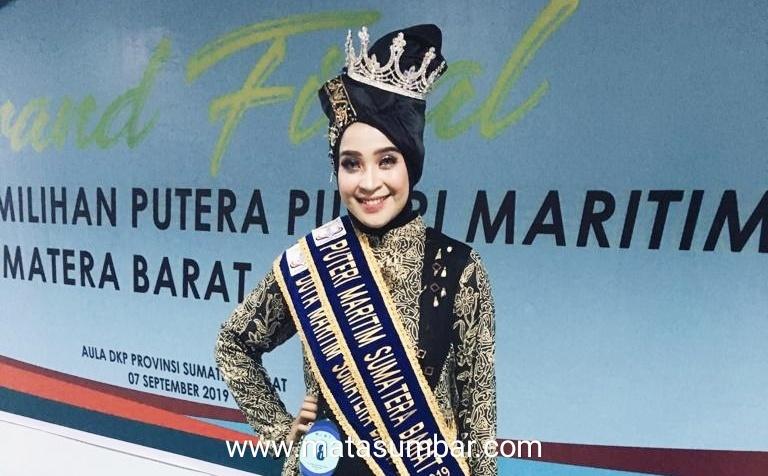 Putri Ketua Pekat IB Mentawai di Nobatkan Sebagai Duta Maritim Sumbar