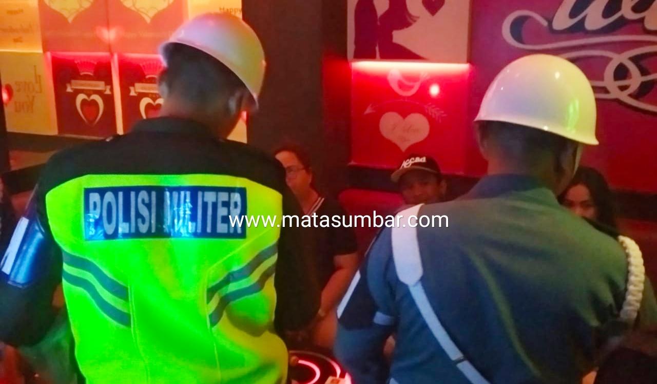 Polisi Militer Tingkatkan Gaktib di Kalangan Anggota TNI Yang Mangkal di Tempat Hiburan