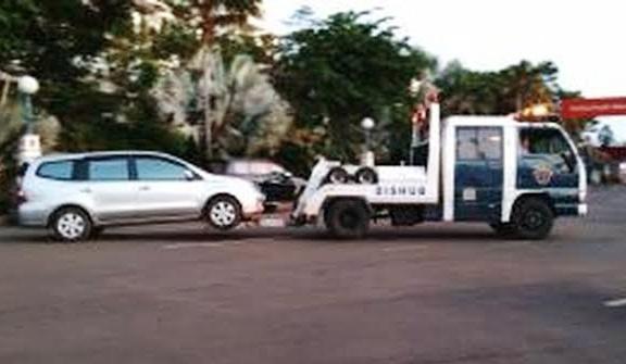 Oktober 2019, Dishub Padang Berlakukan Sangsi Kendaraan Yang Parkir Sembarangan