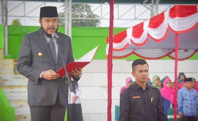 Upacara Hari Kesaktian Pancasila di Lapangan Anas Karim Berlangsung Khidmat