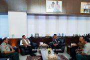 Deputi Kedaruratan dan Logistik Apresiasi Kegigihan Bupati Pasbar Jemput Dana Bencana
