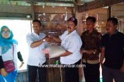 Balon Wabup Tanah Datar Indra Gunalan, Berikan Sembako Kepada Warga Terkena Banjir Bandang