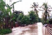 Diguyur Hujan, Dua Nagari Kecamatan Ranah Hulu Pessel Kembali di Rendam Banjir