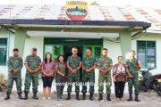 Awali Tugas, Dandim 0319/Mentawai Kunjungi Koramil 04/Sikakap