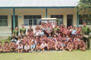Kunjungi Sekolah dan Rumah Ibadah, Polsek Sikakap Sampaikan Isu Penculikan Anak Adalah Hoax